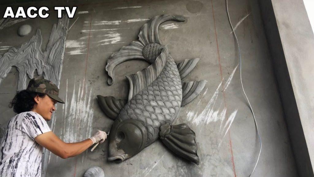pet concrete art