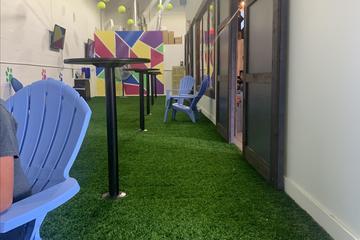 BRK Republic indoor dog park