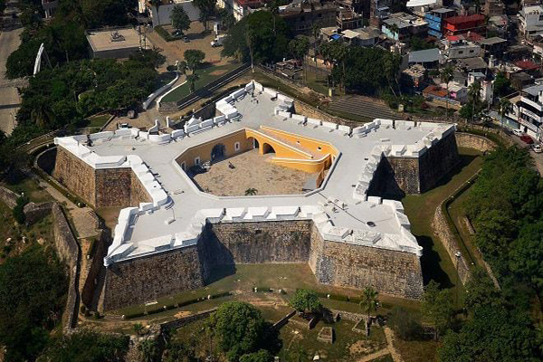 Fort of San Diego in Acapulco, Mexico