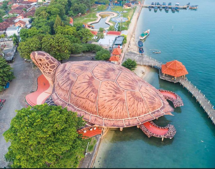 Kura-Kura Ocean Park in Indonesia