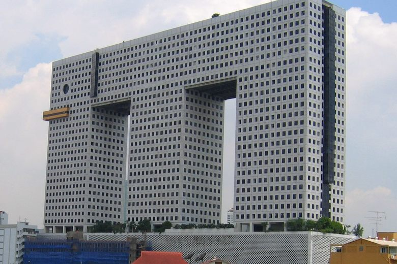 The Elephant Building in Bangkok, Thailand