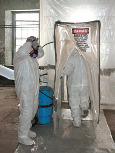 removal of hazardous materials