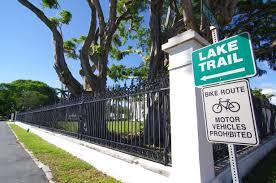 Palm Beach Lake Trail in Florida