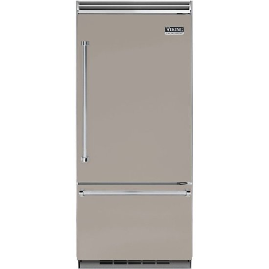 Viking - Professional 5 Series Quiet Cool 20.4 Cu. Ft. Bottom-Freezer Refrigerator - Custom Panel Ready